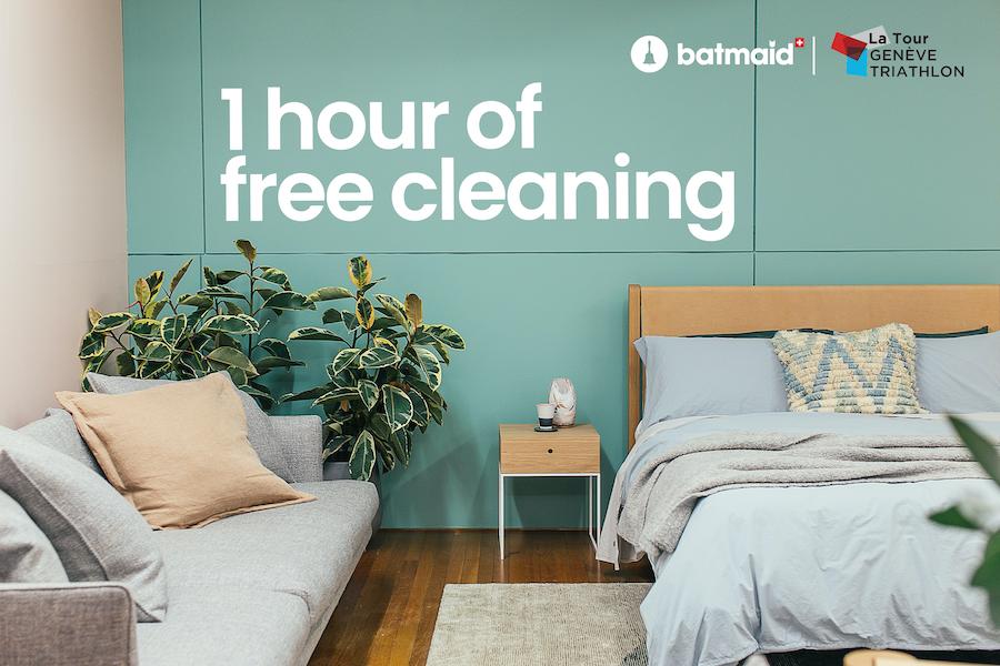 Profitez d'une heure offerte sur votre ménage lors de votre prochaine réservation !