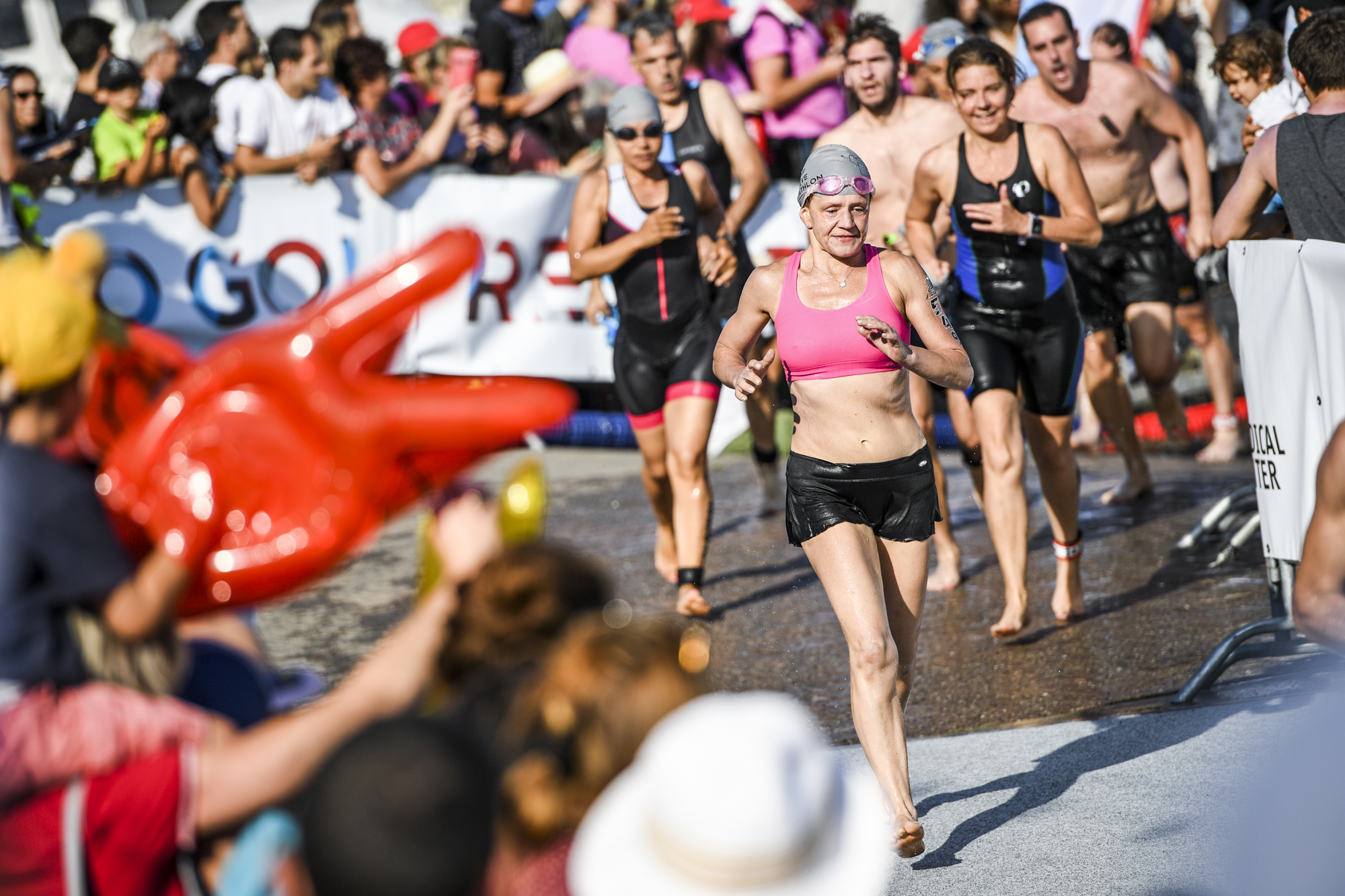 Final stretch before the 31st edition of the La Tour Genève Triathlon