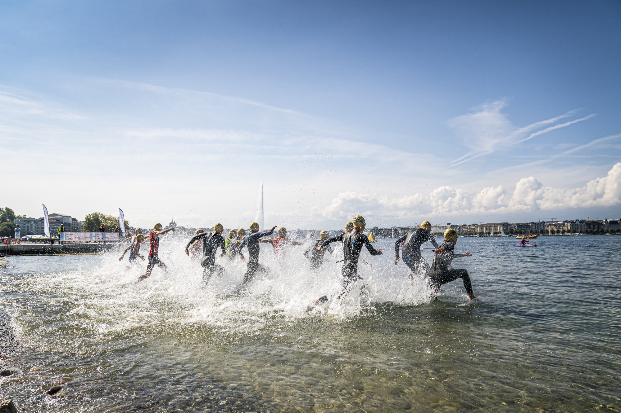 Geneva celebrates the return of sporting events in style and becomes the new Swiss capital of triathlon
