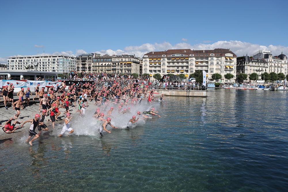 Genève vibrera au rythme du Triathlon les 15 et 16 juillet 2017